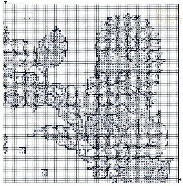 Orologio scoiattoli 3 punto croce for Orologio punto croce schemi gratis