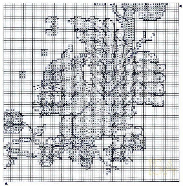 Orologio scoiattoli 5 punto croce for Orologio punto croce schemi gratis