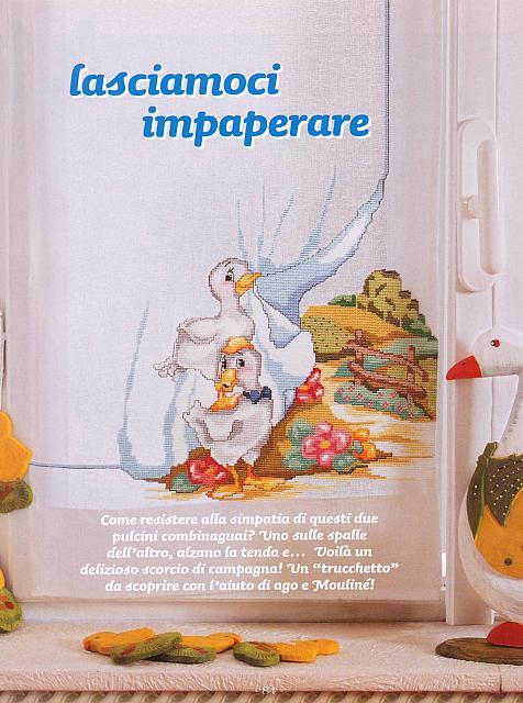 tenda oche paesaggio (1) - magiedifilo.it punto croce uncinetto schemi gratis...