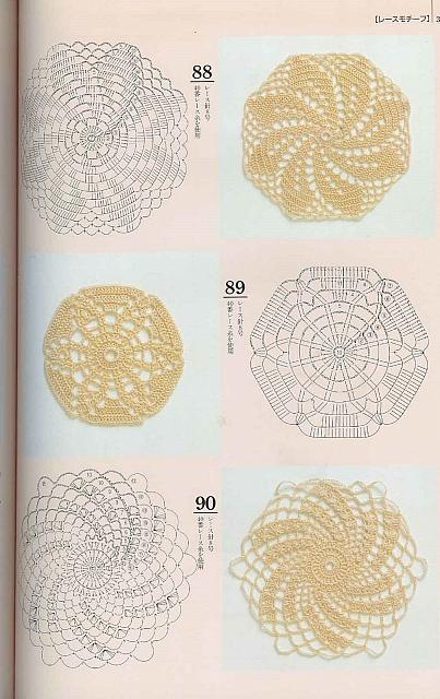 Piastrelle uncinetto 25 punto croce uncinetto schemi gratis hobby creativi - Schemi piastrelle uncinetto ...