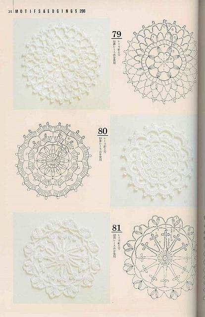 Lo spazio di lilla piastrelle crochet giganti per - Schemi piastrelle uncinetto ...