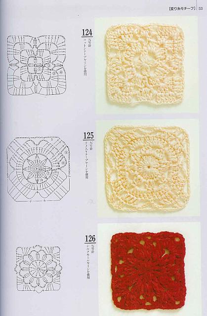 Piastrelle uncinetto 37 punto croce uncinetto schemi gratis hobby creativi - Schemi piastrelle uncinetto ...