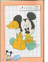 Disney Baby bellissimi schemi punto croce (3)