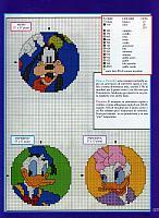 Disney punto croce uncinetto schemi for Piccoli ricami punto croce per bambini