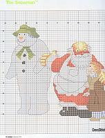 schema James pupazzo di neve e babbo natale (1)