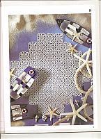 Centro quadrato piastrelline macramè 1