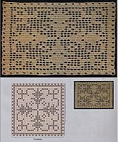 Piastrelle e moduli punto croce uncinetto for Piastrelle uncinetto filet schemi