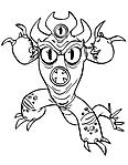 Fred con vestito da mostro Big Hero 6 disegni da colorare