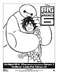 Stampa e colora Big Hero 6