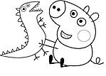 disegno-da-colorare-di-george-pig