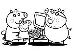 FAMIGLIA AL COMPUTER