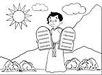 Mosè Dieci Comandamenti