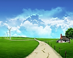 stagione estate wallpaper 1280x1024