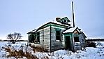 casa abbandonata nelle nevi 1920x1080
