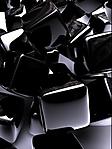 Cubi neri sfondo wallpaper 240x320