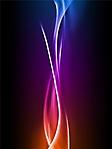 Fiamma colorata sfondo wallpaper 240x320