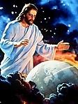 Gesù Salvatore del mondo sfondo wallpaper 240x320