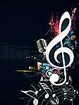 Nota musicale sfondo wallpaper 240x320