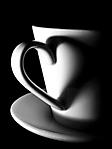 Tazzina di caffe sfondo wallpaper 240x320