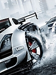 Auto bianca sportiva sfondo wallpaper 240x320