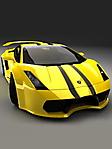 Lamborghini gialla sfondo wallpaper 240x320