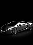 Lamborghini nera sfondo wallpaper 240x320