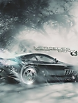 Mercedes benz nero sfondo wallpaper 240x320