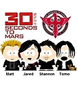 30 second to Mars 240x320 sfondo wallpaper
