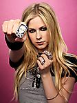 Avril Lavigne 240x320 sfondo wallpaper