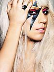Lady Gaga 240x320 sfondo wallpaper