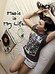 Music is my life 240x320 sfondo wallpaper