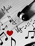 Music is my life 2 240x320 sfondo wallpaper