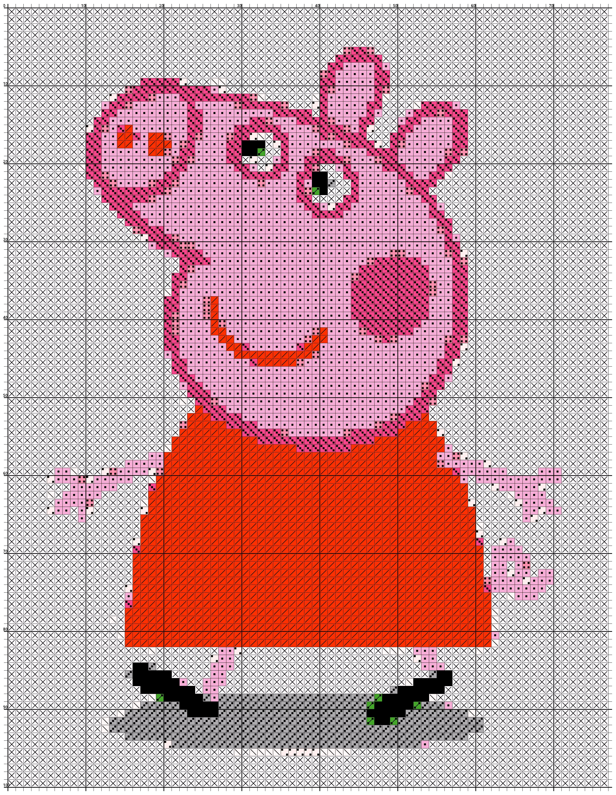 Tutorial Peppa Pig Amigurumi | How to crochet Peppa Pig Amigurumi ... | 3264x2528