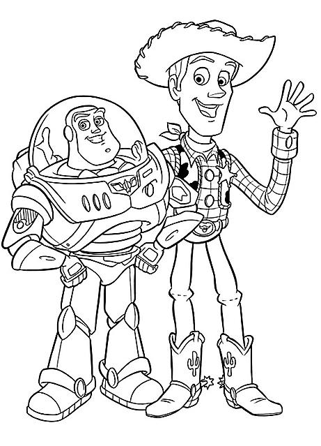 Toy Story Buzz Lightyear E Woody Gif Animate Categoria Toy Story