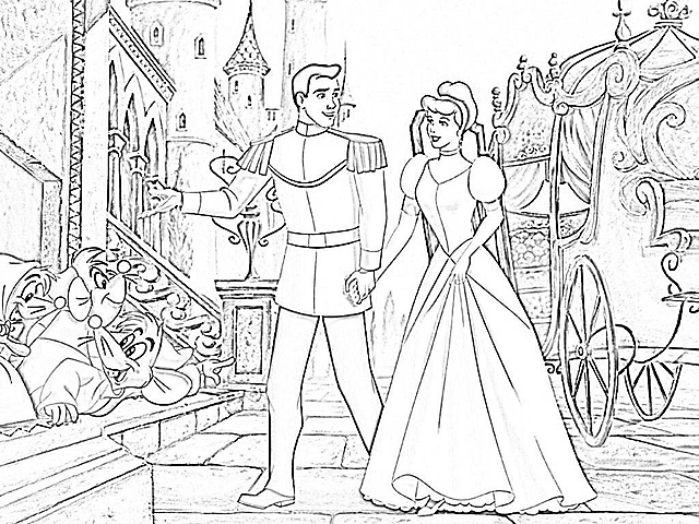 Disegni da colorare cenerentola castello gif animate for Disegni da colorare cenerentola