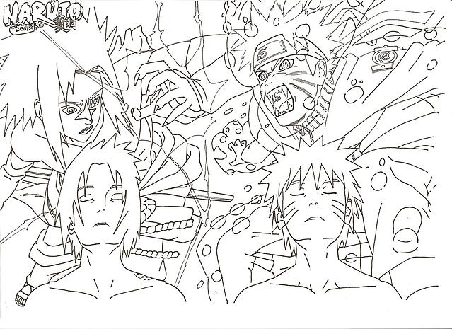 Naruto Contro Sasuke 2 Disegni Da Colorare Gif Animate Categoria