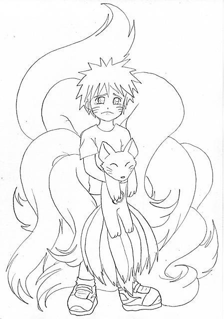 Naruto E La Volpe Disegni Da Colorare Gif Animate Categoria