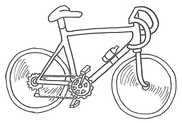 Disegni Da Colorare Per Bambini Bici Da Corsa Gif Animate