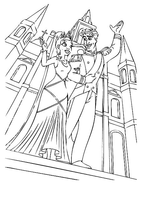 Il Matrimonio Disegni Da Colorare Gratis Gif Animate Categoria La