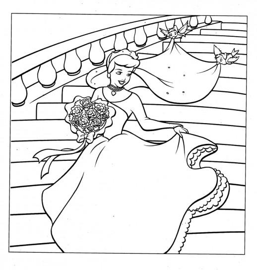 Disegni Da Colorare La Principessa Ariel Al Ballo Risorse