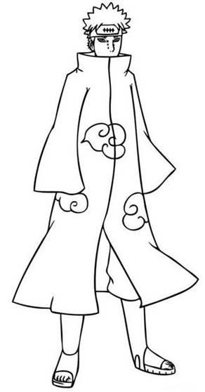 Pain Disegni Da Colorare Risorse Categoria Naruto Magiedifilo