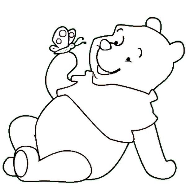 Disegni da colorare winnie the pooh farfallina risorse