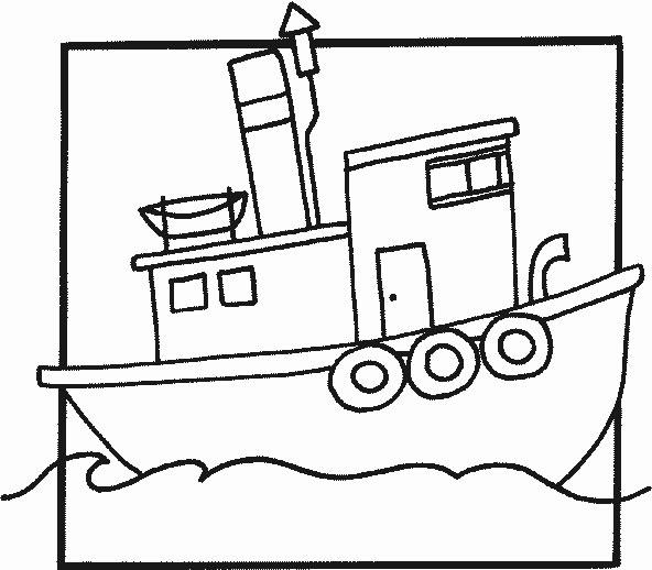 disegni da colorare per bambini battello merci risorse