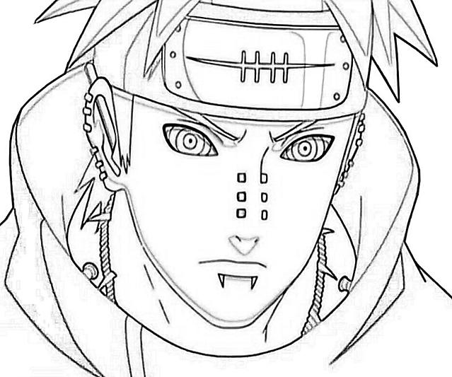 Pain 3 Disegni Da Colorare Wallpapers Categoria Naruto
