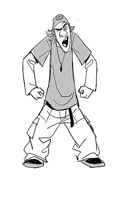 Fred Personaggio Big Hero 6 Disegno Da Colorare E Da Stampare Gratis