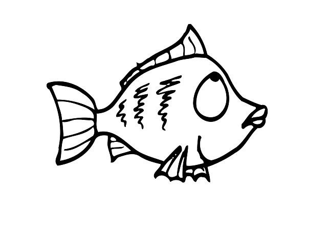 pesciolino triste disegno da colorare disegni da colorare
