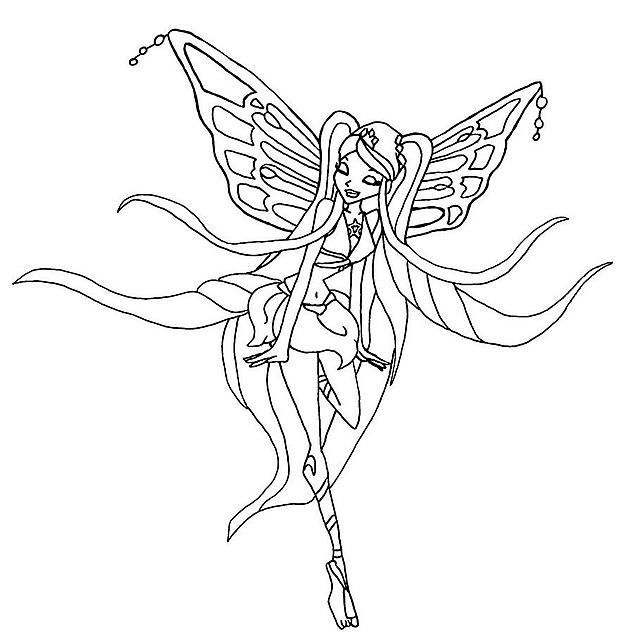 Immagini Da Colorare Winx Stella Ballerina Disegni Da Colorare