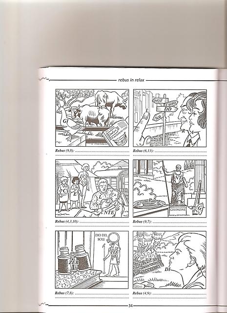 Rebus da stampare e risolvere 3 disegni da colorare for Rebus facili da stampare