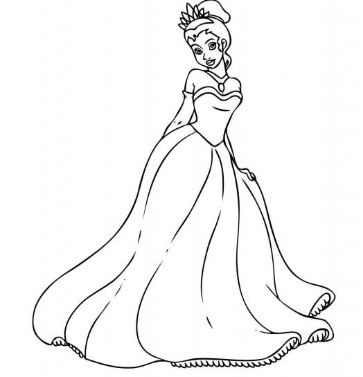 Immagini Da Colorare Tiana La Principessa Disney Disegni Da Colorare Categoria Principesse Disney Magiedifilo It Punto Croce Uncinetto Schemi Gratis Hobby Creativi