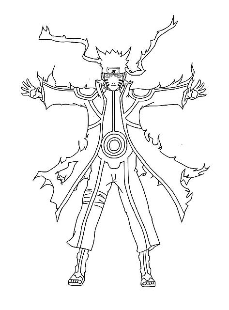 Naruto E Lo Spirito Della Volpe Disegni Da Colorare Disegni Da